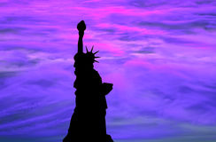 Liberty sky Royalty Free Stock Images