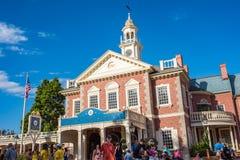 Liberty Square bij het Magische Koninkrijk royalty-vrije stock fotografie