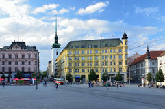 The Liberty Square in Brno Stock Photos