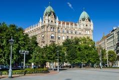 Liberty Square in Budapest Lizenzfreies Stockbild