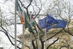 Liberty Square, Budapest Lizenzfreie Stockfotos