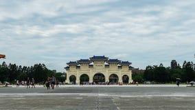 Liberty Square de Chiang Kai-Shek Memorial Hall en Taipei, Taiwán metrajes