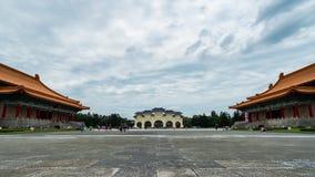 Liberty Square de Chiang Kai-Shek Memorial Hall en Taipei, Taiwán almacen de video