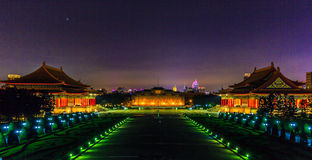 Liberty Square la nuit photos stock