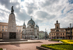 Liberty Square, Lodz Stock Photography