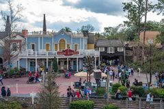 Liberty Square at the Magic Kingdom Stock Images