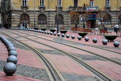 Liberty Square Piata Libertatii Photo stock