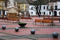 Liberty Square Piata Libertatii Photographie stock