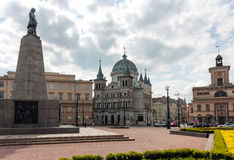Liberty Square (Plac Wolnosci), Lodz Royalty Free Stock Photos