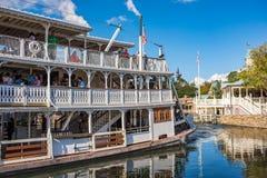 Liberty Square Riverboat, Liberty Belle no reino mágico Imagem de Stock