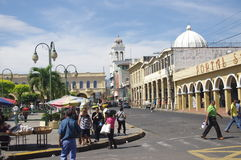 Liberty Square in San Salvador. Liberty Square in downtown San Salvador, El Salvador in Central America Stock Image
