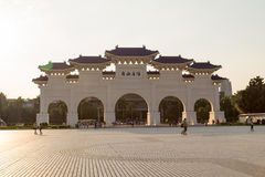 Liberty Square in Taipei with Dazhong Zhizheng gates Stock Images