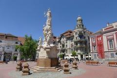 Liberty Square, Timisoara Roumanie Photographie stock libre de droits