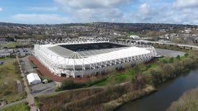 Liberty Stadium Swansea arkivfilmer