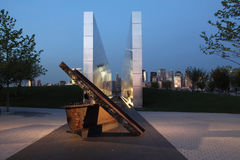 Liberty State Park 1. Empty Sky is  New Jersey September 11 memorial to the states victims Stock Photography