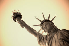 Liberty statue Stock Photos