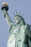 Liberty statue. Shot of the liberty statue. New york city royalty free stock photography