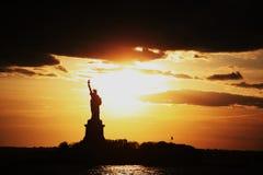 Liberty Statue royaltyfria bilder