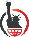 Liberty Statue illustration stock