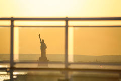 Liberty Statue in Amerika Stockfotos