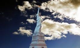 Liberty statue Stock Photo