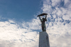 Liberty statue, Budapest Stock Image