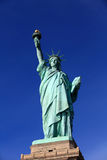 The Liberty Statue with clear blue sky Royalty Free Stock Photo