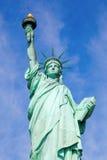 Liberty Statue. The famous Liberty Statue on Liberty Island, NYC, USA stock images