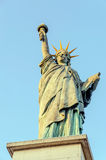 Liberty Statue front view Stock Photo