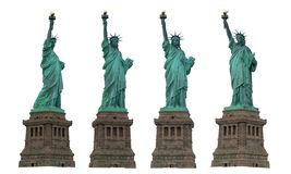 Liberty statue. Icon of New york and america cut out isolated on white background many action for art work and design, New york city, USA, America royalty free stock images
