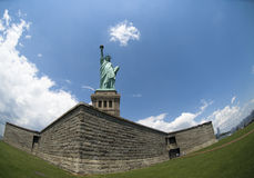 Liberty statue in New York Royalty Free Stock Photo