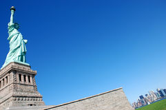 The Liberty Statue - New York. United States of America stock photo