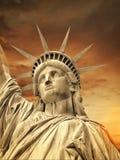 Liberty Statue, New York fotografering för bildbyråer