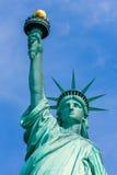 Liberty Statue New York American symbol USA Arkivfoton