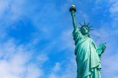 Liberty Statue New York American symbol USA Fotografering för Bildbyråer