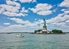Liberty statue new york US Stock Photos