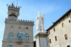 Liberty statue, San Marino Royalty Free Stock Photo