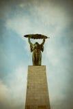 Liberty Statue (statua di libertà) di Budapest, Ungheria Immagine Stock