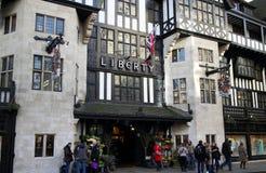 Liberty Store London Foto de archivo