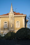 Liberty Style-Gebäude in PESARO ITALIEN Lizenzfreies Stockbild