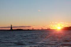Liberty Sunset Fotos de archivo libres de regalías