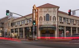 Liberty Theater in Astoria, Oregon Royalty Free Stock Photo