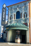 Liberty Theatre in Astoria lizenzfreie stockfotos