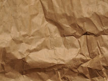 Light brown rippled paper background Royalty Free Stock Image