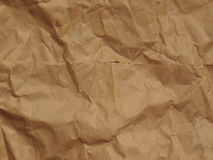 Libght brown rippled paper background Stock Photography