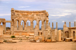 Libië Tripoli Magna Leptis Royalty-vrije Stock Afbeeldingen