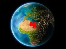 Libia por la tarde Imagenes de archivo