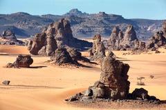 Libische woestijn Stock Fotografie
