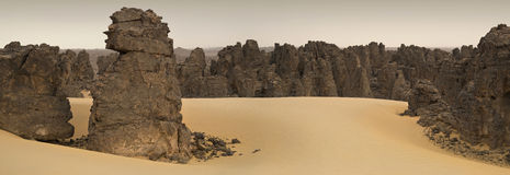 Libische Woestijn royalty-vrije stock fotografie