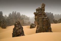 Libische Woestijn royalty-vrije stock afbeelding